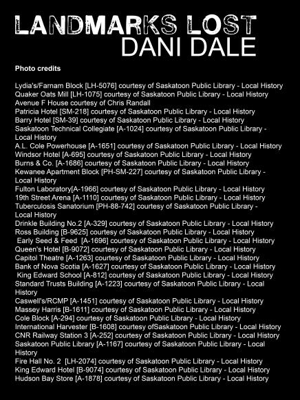 Landmarks Lost photo credits